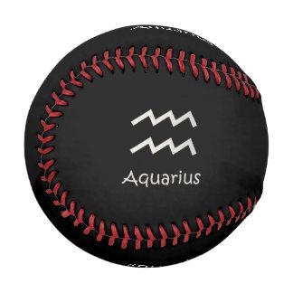 Black Aquarius Zodiac January 20 - February 18 Baseball