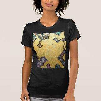 Black Archipelagoes(gold symbolism) T-Shirt