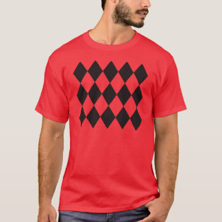 Black Argyle Diamonds T-Shirt