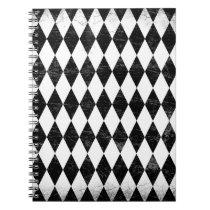 Black Argyle Notebook