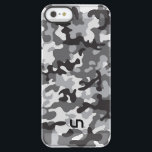 "Black Army Camo Permafrost iPhone SE/5/5s Case<br><div class=""desc"">Give your phone some extra juice with this Black Army Camo Power Gallery Battery Case from Uncommon. A great camouflage design featuring the company&#39;s logo, it will give your iPhone ample protection from wear and tear and help you get up to double the battery life than you normally would. Order...</div>"