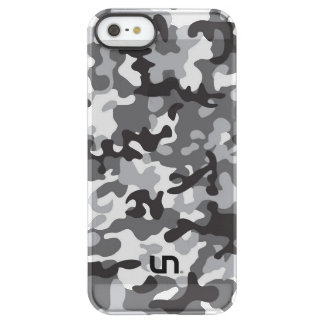 Black Army Camo Permafrost iPhone SE/5/5s Case