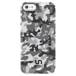 Black Army Camo Permafrost® iPhone SE/5/5s Case