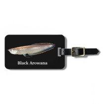 Black Arowana Bag Tag