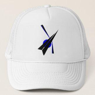 Black Arrow - on white Trucker Hat