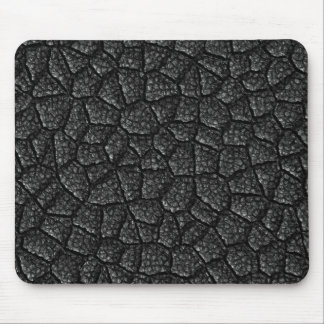 Black Asphalt Design Mouse Pad