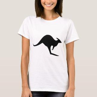 black australian kangaroo - australia T-Shirt