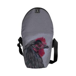 Black Australorp Hen Courier Bag