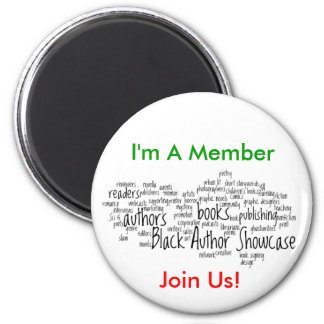 Black Author Showcase Member Magnet