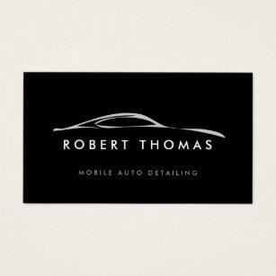 Mechanic business cards templates zazzle black auto detailing auto repair business card colourmoves