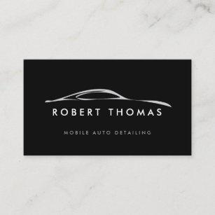Auto repair business cards zazzle black auto detailing auto repair business card colourmoves