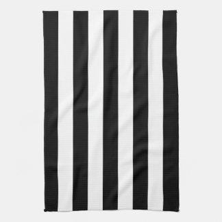 Black Awning Stripe Kitchen Towels
