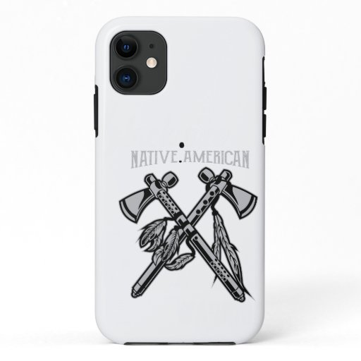 Black Axis iPhone 11 Case