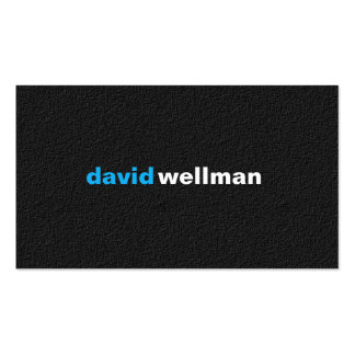 BLACK - B102 Double-Sided STANDARD BUSINESS CARDS (Pack OF 100)