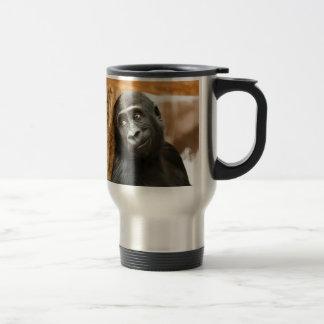 Black Baby Monkey Mugs