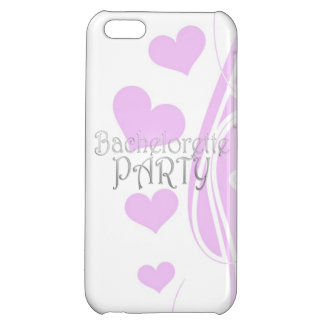 black bachelorette wedding bridal shower party fun iPhone 5C covers