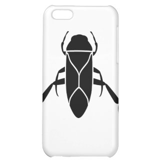 Black Back Swimmer Insect Graphic Print Cover For iPhone 5C