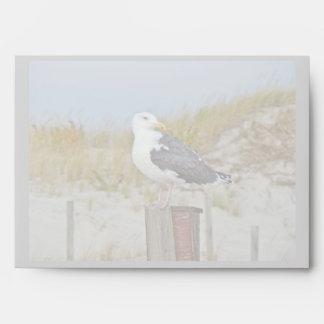Black Backed Gull Seagull Series Envelope