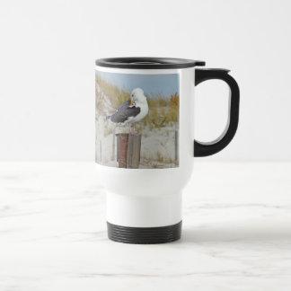 Black Backed Gull Seagull Series Travel Mug