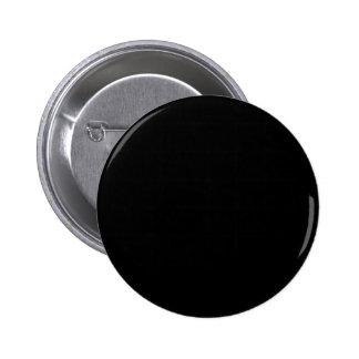 Black Background 2 Inch Round Button