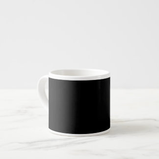 Black Background on a Mug 6 Oz Ceramic Espresso Cup