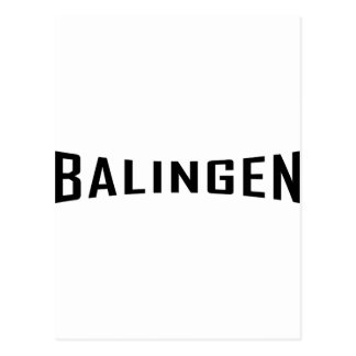 black Balingen icon Postcard