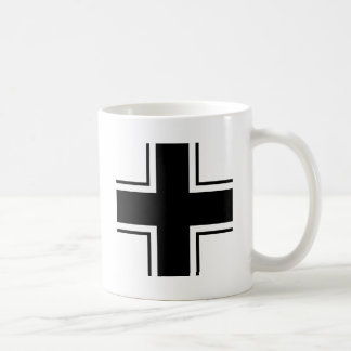 Black Balkan cross of Luftwaffe Classic White Coffee Mug