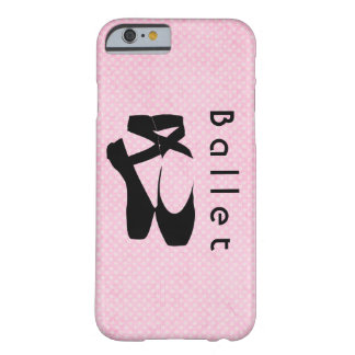 Black Ballet Shoes En Pointe Barely There iPhone 6 Case