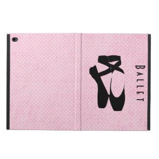 Black Ballet Shoes En Pointe Powis iPad Air 2 Case