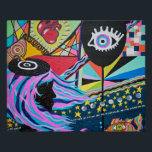 """Black Balloon Print<br><div class=""""desc"""">You can order this original painting by Laci on any Zazzle product you like. If you need help ordering the exact product you desire,  please contact us. Thank you!</div>"""