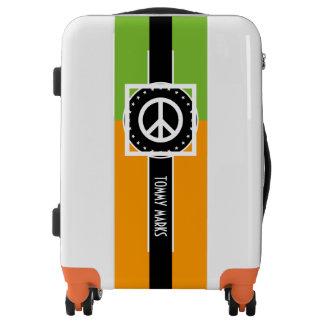 Black Banner & orange Rectangle + your ideas Luggage