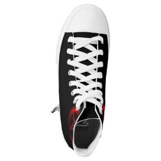 Black Baphomet Sneakers