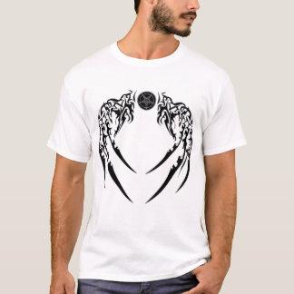 Black Baphomet Wings of  Valour T-Shirt