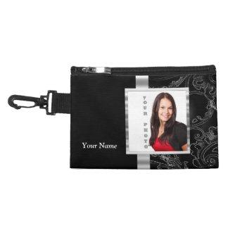Black baroque instagram template accessory bag