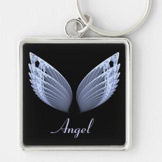 black base wing keychain