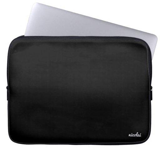 Black/Basic Laptop Case (13) Computer Sleeve