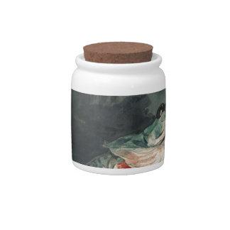Black Bass Candy Jar
