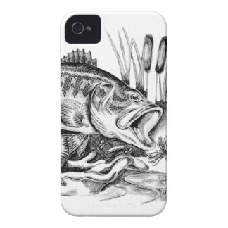 Black bass Case-Mate iPhone 4 case