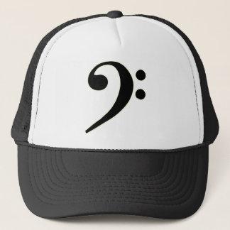 Black Bass Clef Trucker Hat