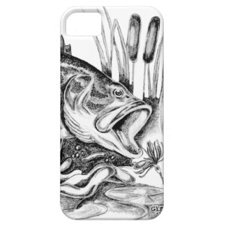 Black bass iPhone SE/5/5s case