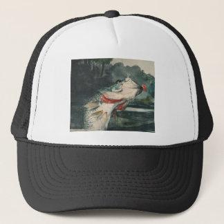 Black Bass Winslow Homer Trucker Hat