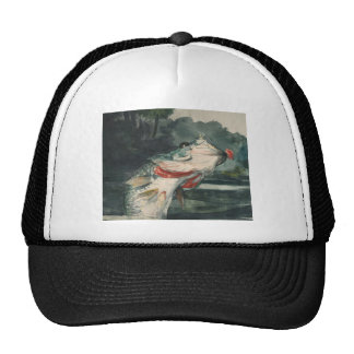 Black Bass Winslow Homer Trucker Hat
