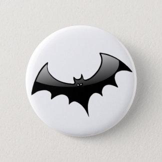 Black Bat Button