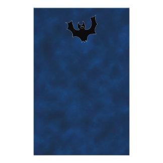 Black Bat Cartoon Flyer