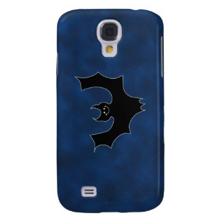 Black Bat Cartoon, in Night Sky. Samsung Galaxy S4 Covers