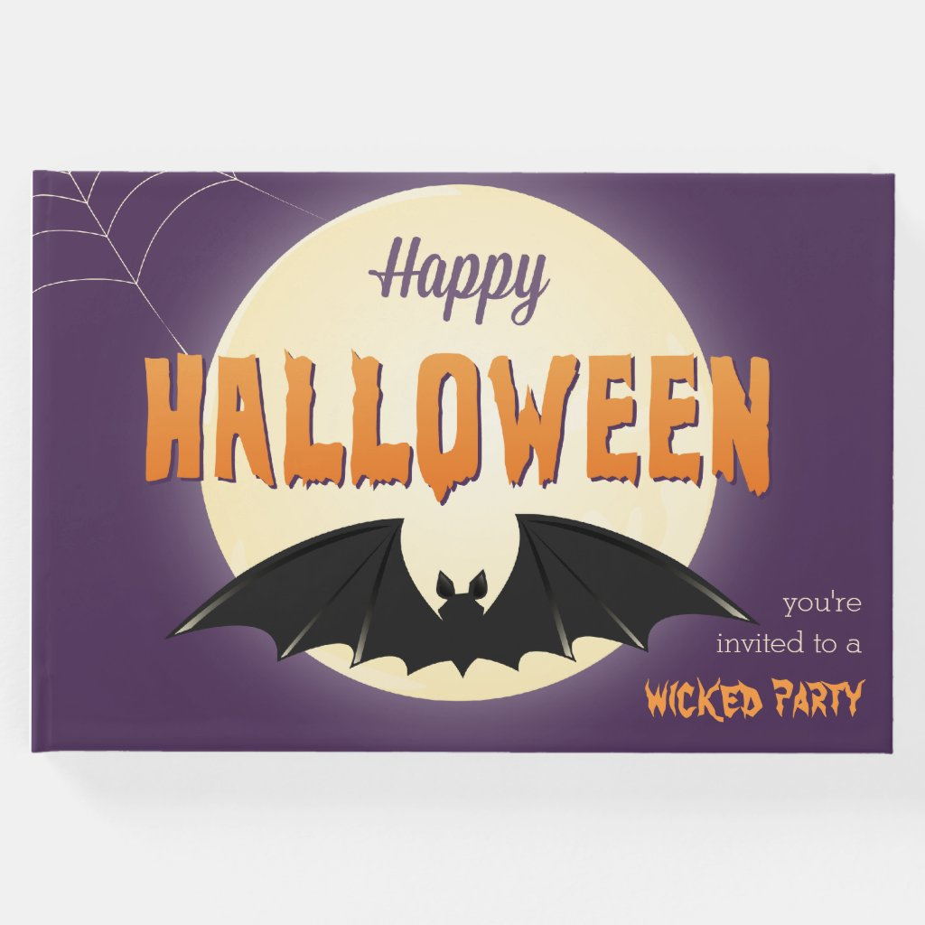 Black Bat Happy Halloween