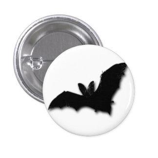 Black Bat Pinback Button
