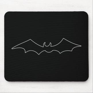 Black Bat spooky figure Mouse Pad