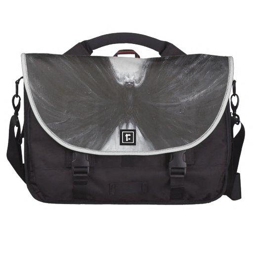 Black Bat(surreal realism) Bag For Laptop