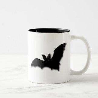 Black Bat Two-Tone Coffee Mug
